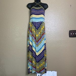Maxi Dress Women's Strapless SZ S American Rag Cie